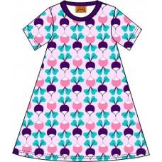 DUNS Sweden retek mintás ruha rózsaszín színben (felnőtt méret)
