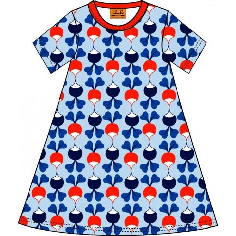 DUNS Sweden retek mintás ruha kék színben (felnőtt méret)