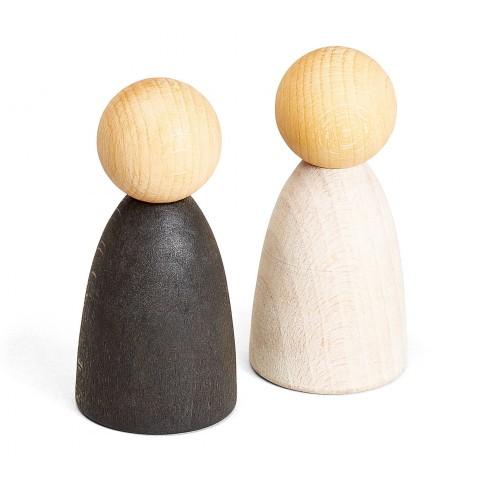 Grapat felnőtt NINS® pár világos fából