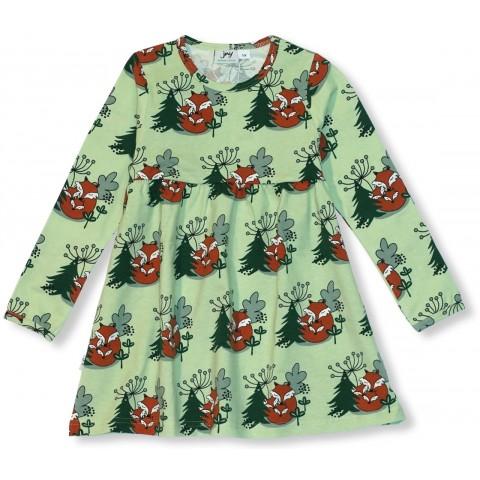 JNY colourful kids Cuddling Foxes - ölelgető rókás ruha