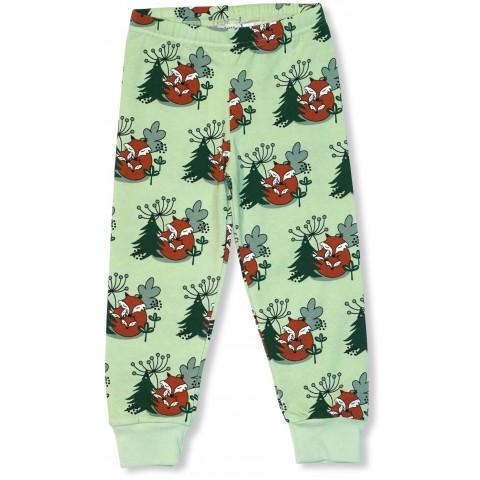 JNY colourful kids Cuddling Foxes - ölelgető rókás nadrág
