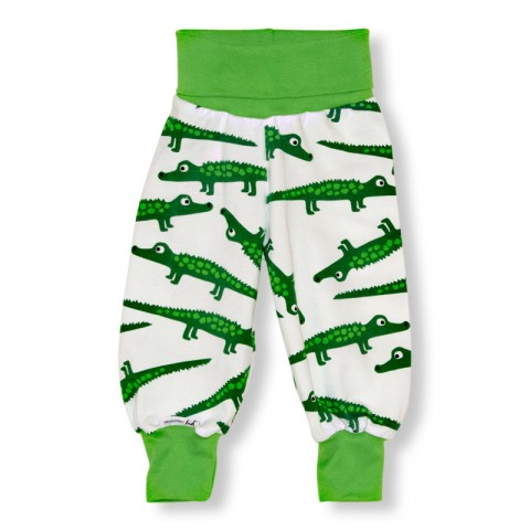 JNY colourful kids Crocodile - krokodilos passzés nadrág