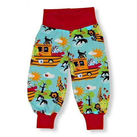 JNY colourful kids Noah's ark - Noé bárkája passzés nadrág