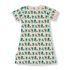 JNY colourful kids Summertree - fa mintás ruha