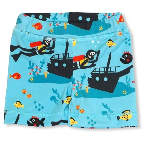JNY colourful kids Scuba - búváros UV szűrős úszó short