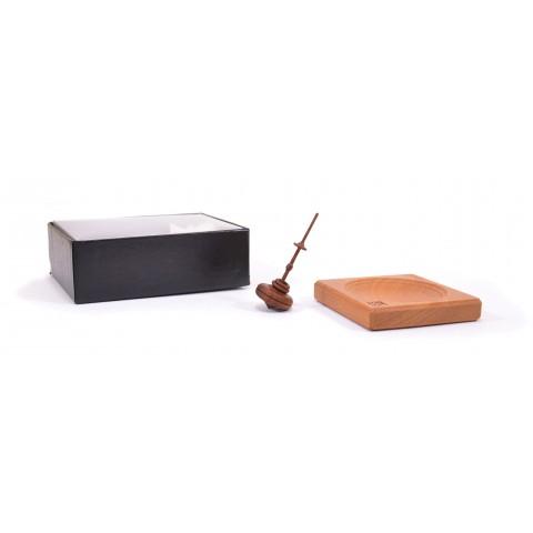 Mader Helenchen natúr pörgettyű és mini tálca dobozban