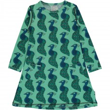 Maxomorra Peacock ls dress - pávás ruha