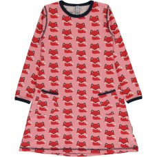 Maxomorra Fox ls dress - rókás ruha