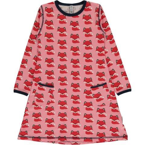 Maxomorra Fox ls dress - rókás ruha