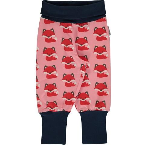 Maxomorra Fox rib pants - rókás passzés nadrág