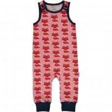 Maxomorra Fox playsuit - rókás kantáros nadrág