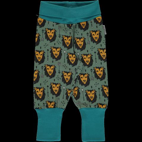 Maxomorra Lion Jungle rib pants - oroszlános passzés nadrág