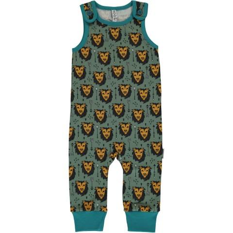 Maxomorra Lion Jungle playsuit - oroszlános kantáros nadrág