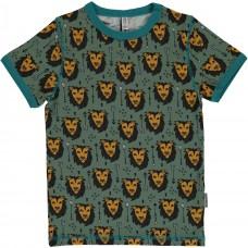 Maxomorra Lion Jungle ss top - oroszlános póló