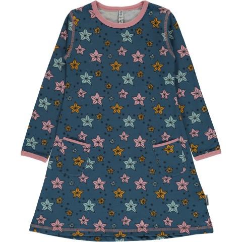 Maxomorra Night Sparkle ls dress -  csillagos ruha