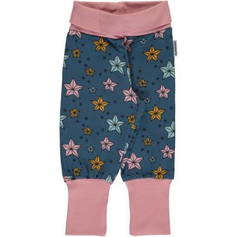 Maxomorra Night Sparkle rib pants - csillagos passzés nadrág