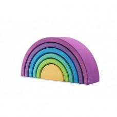 """Ocamora """" Púrpura Encajable de 6 arcos """" 6 db-os lila szivárvány építő"""