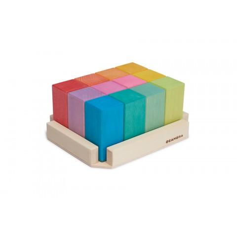 "Ocamora ""Prismas Rectangular Color"" színes oszlopok"