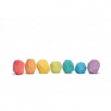 """Ocamora """"Teniques"""" 7 db-os, színes egyensúlyozós fajáték"""