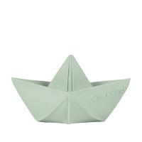 Origami hajó gumi játék - menta
