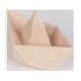 Origami hajó gumi játék, rágóka - natúr