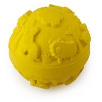 Világ labda gumi játék - sárga
