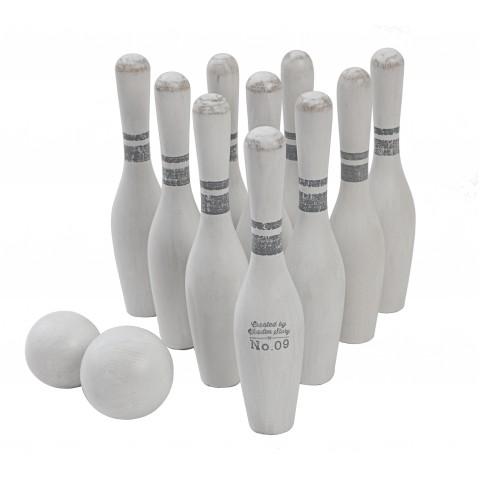 WOODEN STORY vintázs bowling szett